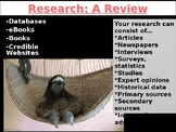 AP Research How-To (review)