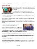 AP SPANISH Ciencia y tecnología inventos 2017. Science and Technology
