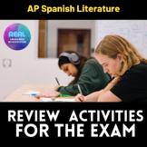 AP Spanish Literature FUN MEGA REVIEW