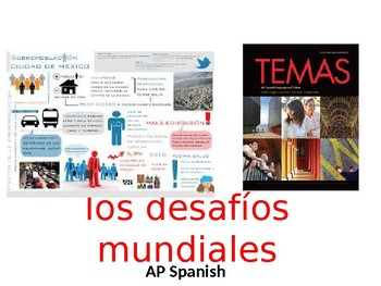 AP SPANISH: Los desafíos mundiales   World Challenges