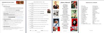 AP SPANISH Presentación Oral Identidades personales y públicas. Héroes Villanos