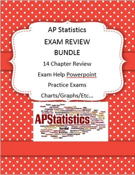 AP STATS STATISTICS EXAM REVIEW BUNDLE