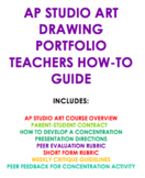 AP STUDIO ART DRAWING PORTFOLIO - COMPLETE HOW-TO GUIDE