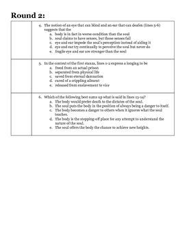 AP Smarty Pants Challenge Handout #2