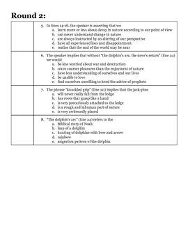 AP Smarty Pants Challenge Handout #4