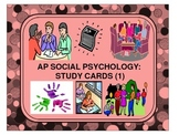 Social Psychology: Study Cards (1)
