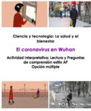 AP Spanish Ciencia y Tecnología: La salud: El coronavirus