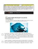 AP Spanish: Ciencia y Tecnología - Protege tus datos perso