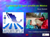 AP Spanish Comparación Cultural | La escasez de agua potable en México