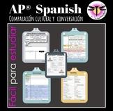 AP Spanish Cultural Comparison & Conversation Cheat sheet