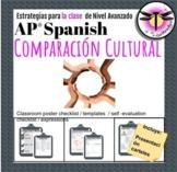 AP Spanish Cultural comparison: Comparación cultural