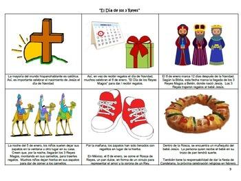 AP Spanish Culture Stations - New Year; 3 Reyes; Lotería de Navidad
