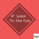 AP Spanish Email Replay Cheat Sheet/Hoja de Trampa: El email AP