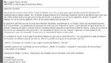 AP Spanish Email Task - Falta de Agua en Chile (Lack of Water)