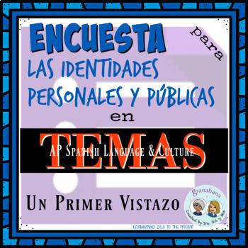 No Prep! AP Spanish Encuesta de Intereses en Temas * Las Identidades