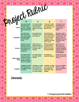 AP Spanish: Global Challenges Project - Study an NGO then create your own