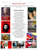 AP Spanish Héroes y Villanos Identidades Personales y Públicas Webquest.