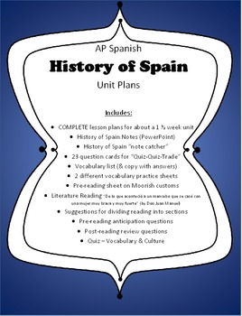 AP Spanish - History of Spain Unit