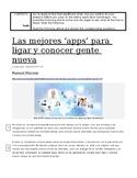 AP Spanish - La Ciencia y La Tecnología - Las mejores apps