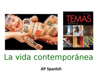 AP Spanish: La vida contemporánea | Contemporary Life