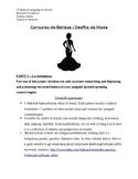 AP Spanish Language & Culture Beauty/Fashion Project