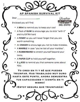 AP Spanish Language & Culture Survival Kit