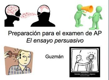 AP Spanish Language and Culture: Ensayo Persuasivo Presentación PowerPoint