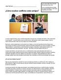 AP Spanish Lectura. La amistad y los conflictos - friendsh