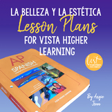 AP Spanish Lesson Plans and Curriculum for La belleza y la estética VHL