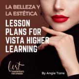 AP Spanish Lesson Plans and Curriculum for La belleza y la estética VHL