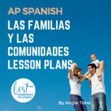 AP Spanish Lesson Plans and Curriculum for Las familias y las comunidades VHL
