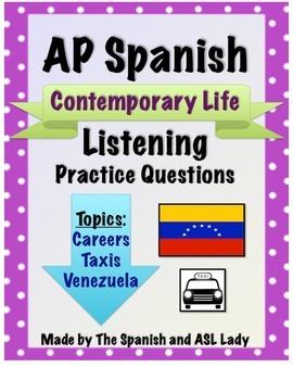 AP Spanish Listening - Contemporary Life - Venezuelan Taxi