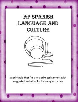 AP Spanish Listening Printable