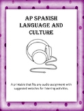 AP Spanish Listening Printable