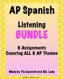 AP Spanish Listening Questions - Varied Test Prep BUNDLE