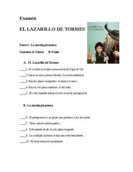 AP Spanish Lit- Exam-El Lazarillo y la picaresca