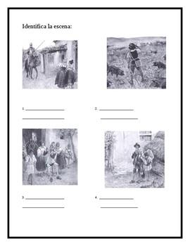 AP Spanish Lit- Preguntas de discusion-Capitulo #2-Don Quijote