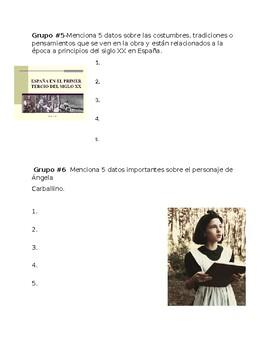 AP Spanish Lit- Trabajo en grupo-San Manuel Bueno