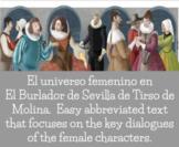 AP Spanish Literature Burlador de Sevilla Google Distance Construction of Gender
