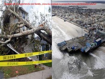 "AP Spanish Literature & Culture ""En una tempestad"" Hurricane discussion"