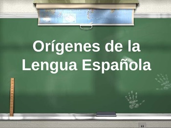 AP Spanish Literature & Culture: Origins of Spanish Language - Orígenes