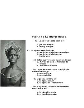 AP Spanish Literature-Examen-Poesia vanguardista s. XX