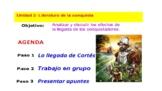 AP Spanish Literature-La carta de Cortés-Powerpoint
