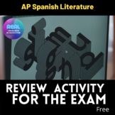AP Spanish Literature Literary Terms and key words