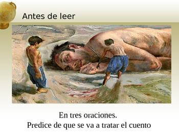 AP Spanish Literature: El ahogado más hermoso del mundo y La siesta del martes.