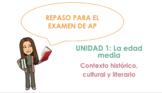 AP Spanish Literature Review - Unit 1