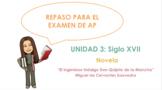 AP Spanish Literature Review - Unit 3
