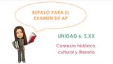 AP Spanish Literature Review - Unit 6
