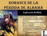 AP Spanish Literature- Romance de la pérdida de Alhama