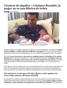 AP Spanish News Article Analysis / Noticiero